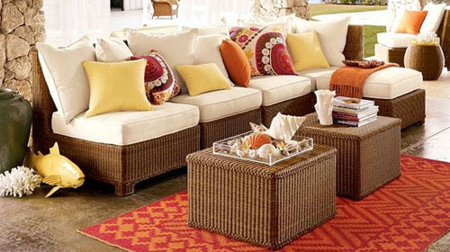 The best thing about rugs is that they have come a long way in the last 10 years. These fashionable outdoor rugs are just as trendy inside the home.