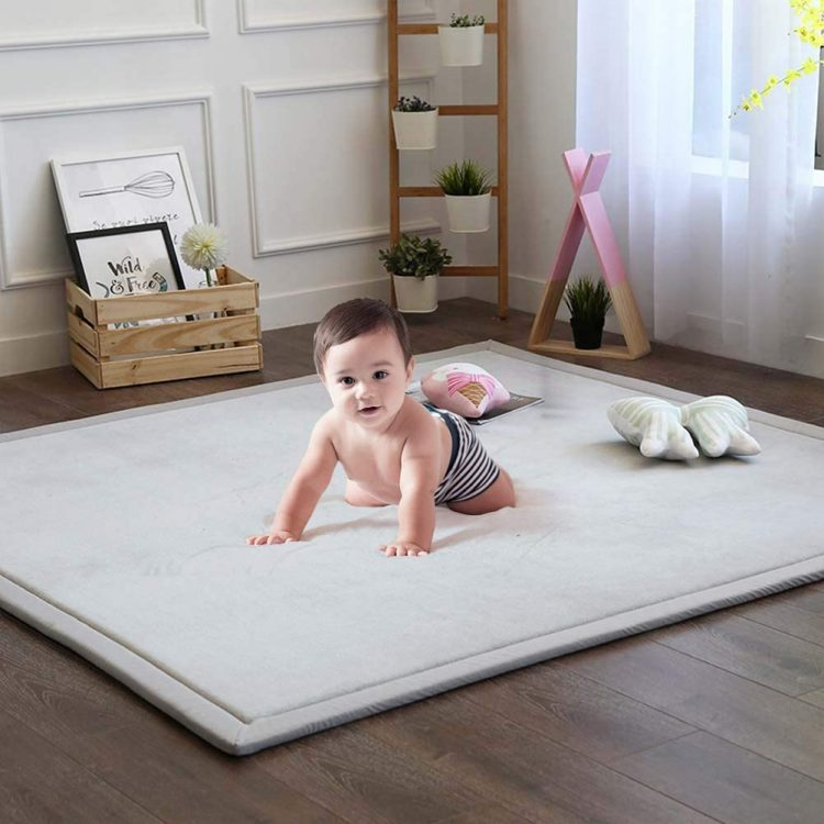 Best Modern - Soft Play Rug for Baby to Crawl on