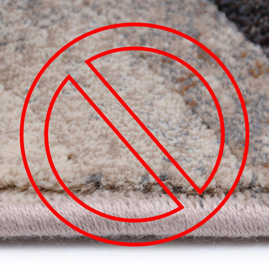 Polypropylene rugs are not safe for babies. Do not use them.