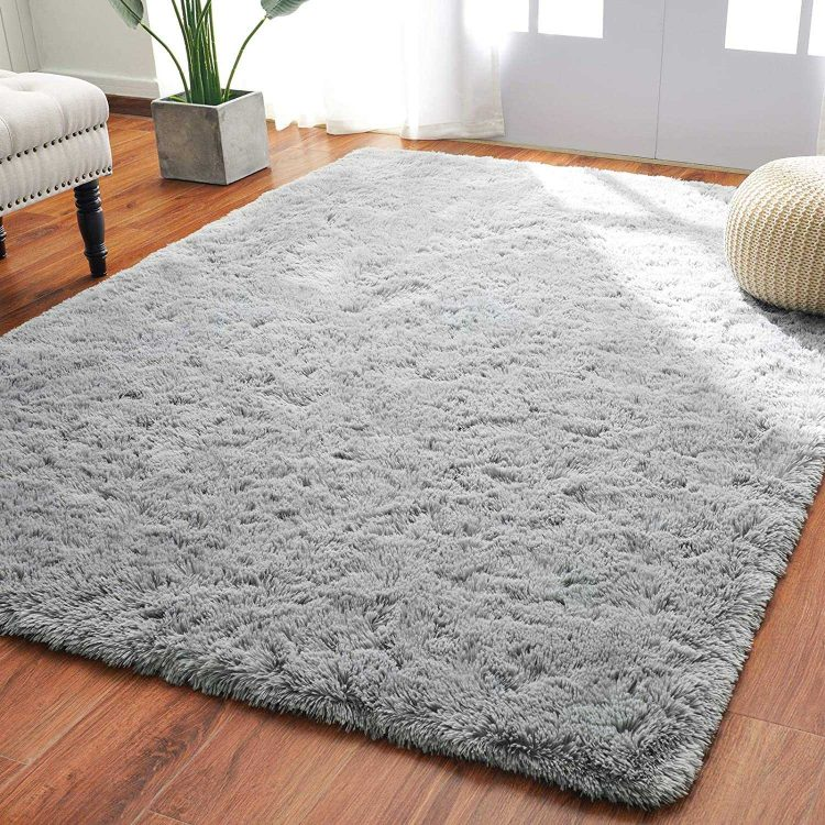 Best Overall - Softlife Fluffy Thick Bedroom Area Rugs
