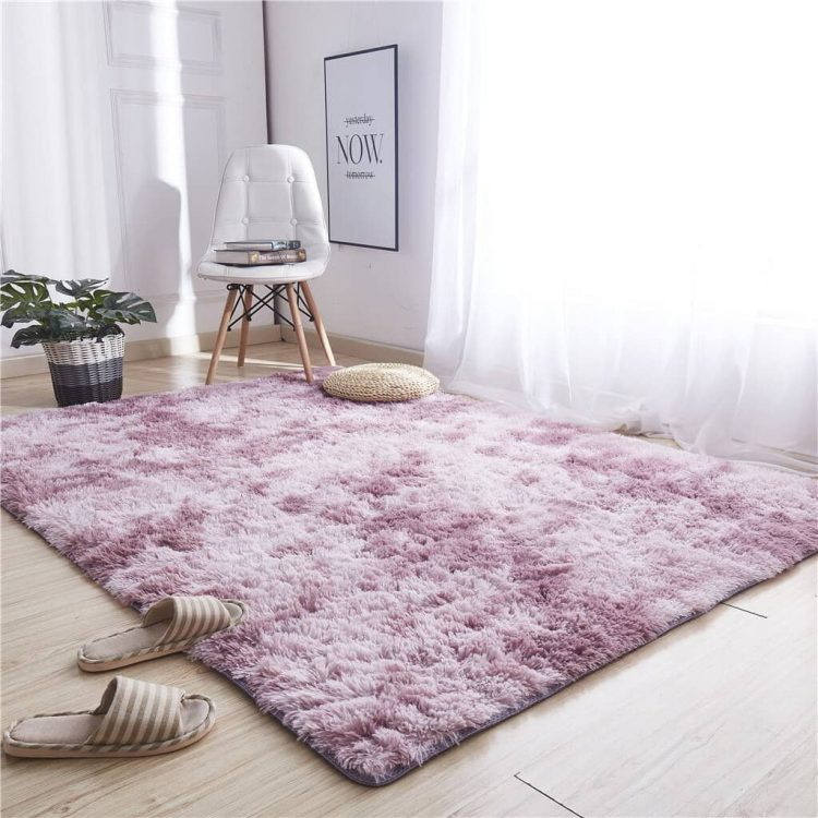 Avoid shag rugs if you're a pet owner.