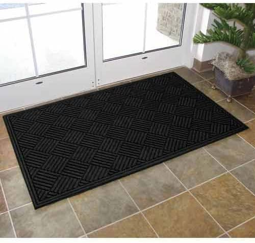 Apache Mills Textures Crosshatch Entrance Mat