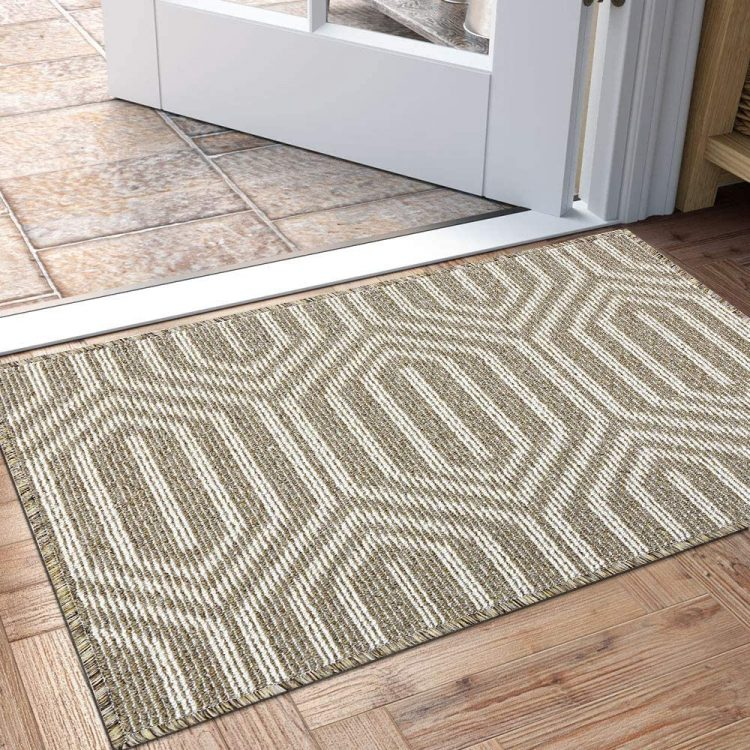 DEXI Low-Profile Indoor Doormat for Hardwood Floor
